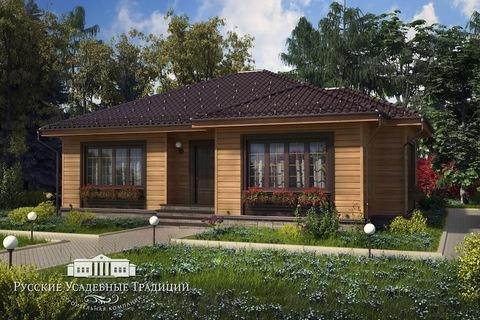 """Проект одноэтажного дома """"Дельта"""" 150 кв.м."""