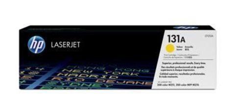 Картридж HP CF212A (131A) для принтеров HP LaserJet Pro 200 Color M251, M276 (желтый, 1500 стр.)