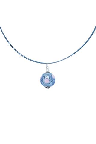 Подвеска Perla Grazia светло-синяя pois (Light Sapfir Pois)