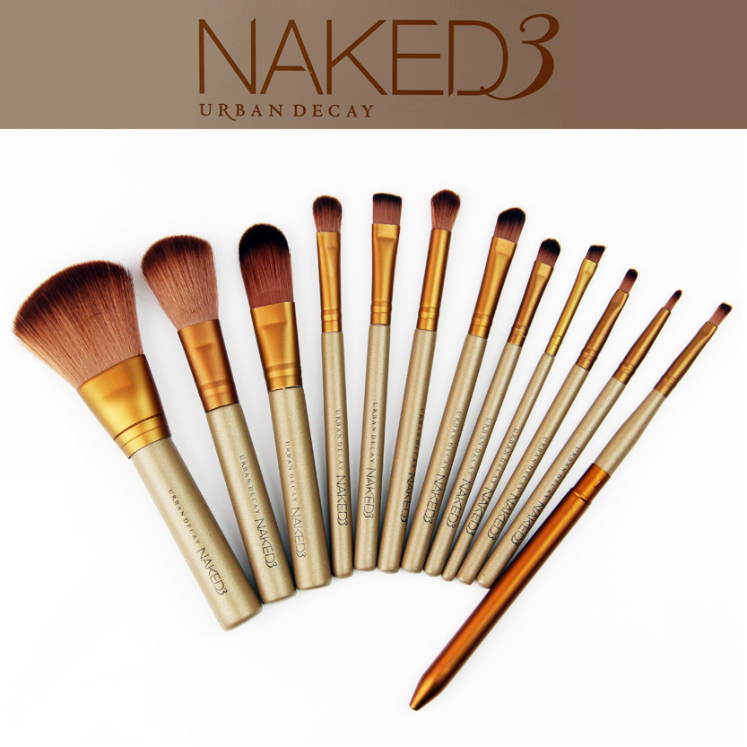 Набор из 12 кистей URBAN DECAY NAKED 3
