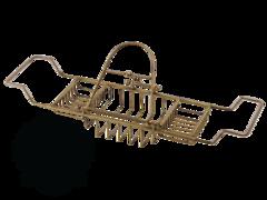 Полка-решетка на ванну с подставкой Migliore Complementi H29,5xL66-105xP19 cm ML.COM-50.171