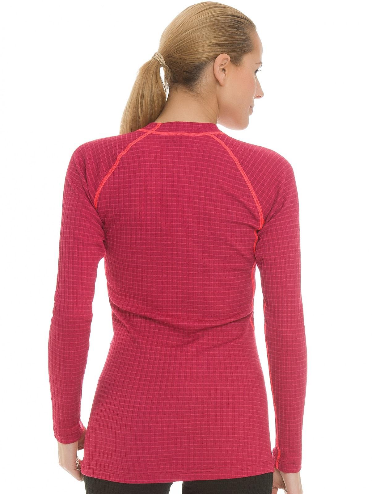 Женский комплект термобелья крафт Warm Wool Red (1903724-2482-1903725-2482)