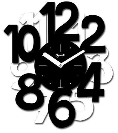 Часы настенные Lowell 05766NB