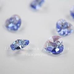 6228 Подвеска Сваровски Сердечко Light Sapphire Shimmer (10,3х10 мм)