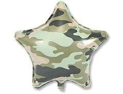 Шар звезда Камуфляж