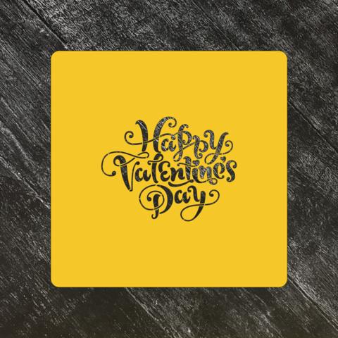 Трафарет любовь №55 Happy Valentines Day