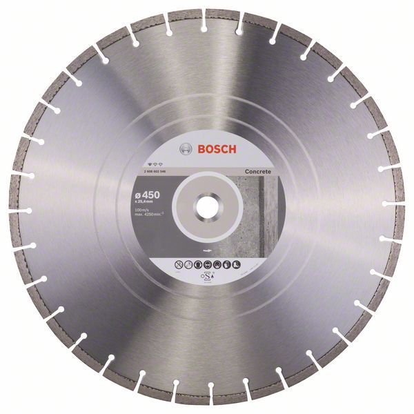 Алмазный диск Standart for Concrete 450-25,4 Bosch 2608602546