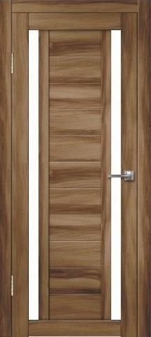 Дверь Дверная Линия Виктория-2, стекло снег, цвет барон тёмный, остекленная