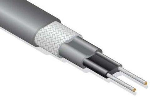 Саморегулирующийся Саморегулируемый нагревательный кабель 16 Вт с экраном SRL 16-2 CR Обогрев труб кровли водостоков EASTEC (ИСТЭК) Греющий кабель.. EASTEC SRL 16-2 CR