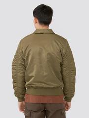 Куртка Alpha Industries CWU 45/P Vintage Olive (оливковая)