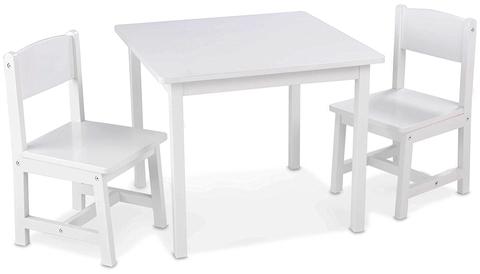 KidKraft Аспен - набор детской мебели белый 21201_KE