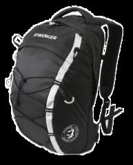 Рюкзак WENGER, цвет черный/серебр. (30532499)