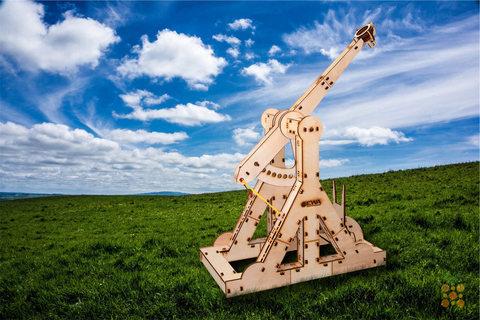 Деревянные конструкторы Eco Wood Art. Модель Требушет