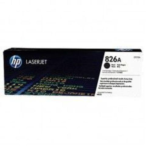 Картридж HP CF310A (826A) для HP Color LaserJet Enterprise M855, черный. Ресурс 29000 страниц
