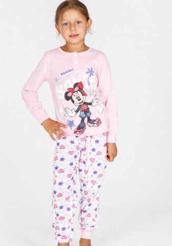 Нежная хлопковая пижамка для девочки