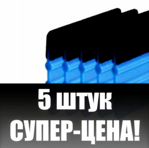 Ракель  3м с войлоком - 5 шт. (инструмент для поклейки виниловой пленки на авто, защитной пленки на телефон)