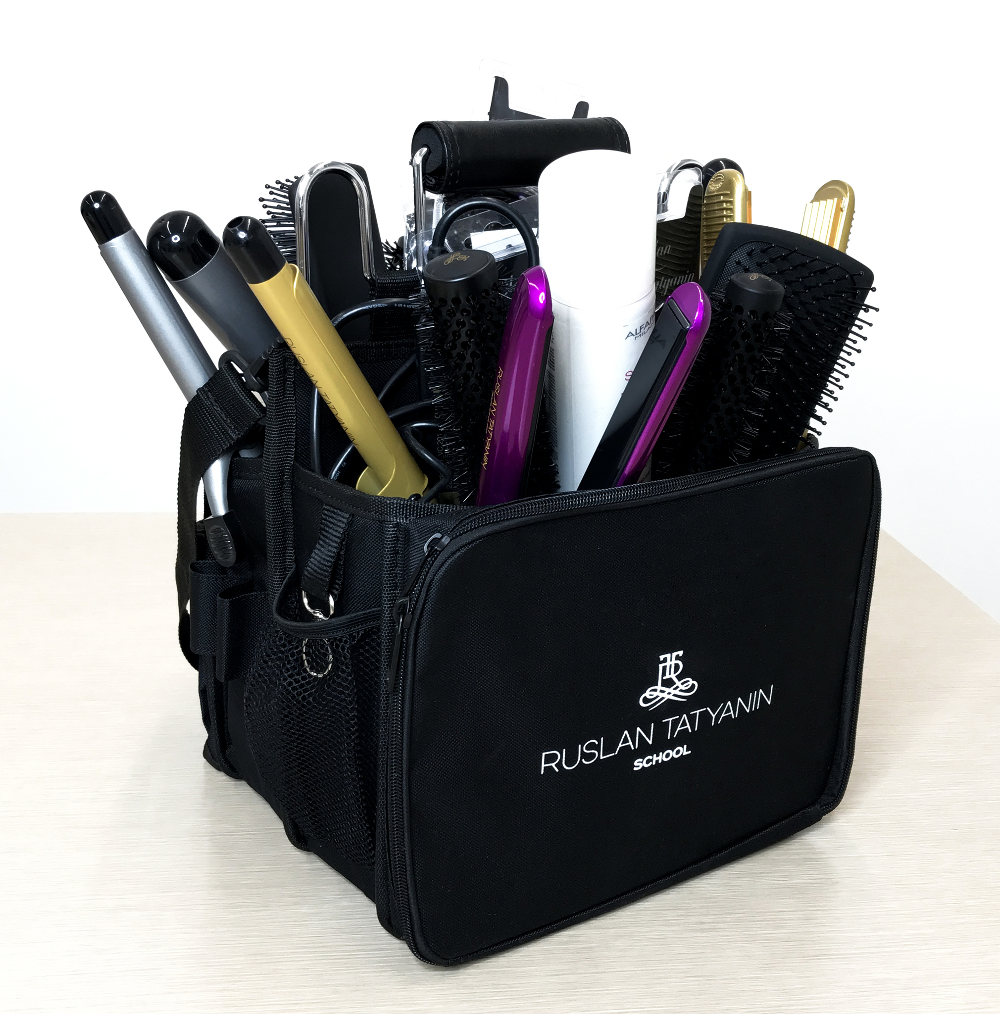Bag for tools with Ruslan Tatyanin School logo