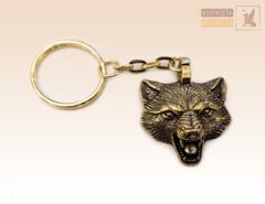 брелок Волк вариант 2