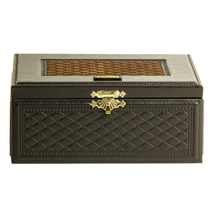 Шкатулка «Монархия», коричневая от 2 570 руб