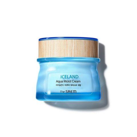 Saem Iceland Hydrating Крем для лица увлажняющий Iceland Aqua Moist Cream 60мл