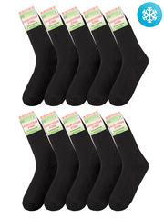 БТ01 носки мужские с махрой (10шт), черные