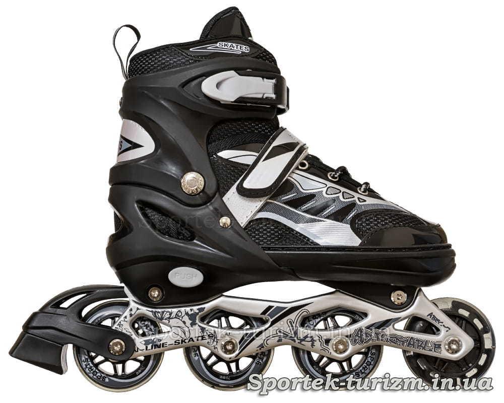 Вид справа на роликовые коньки InLine Skate 38-43 размера