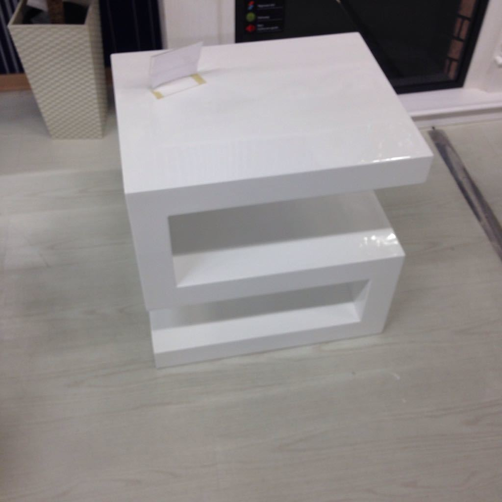 Стол консоль DUPEN (Дюпен) 25-20 белый