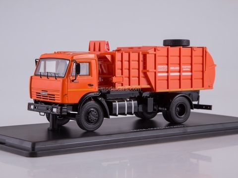 KAMAZ-43253 MKM-4503 orange 1:43 Start Scale Models (SSM)
