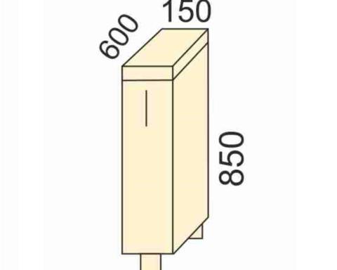СОФЬЯ, СВЕТЛАНА, ПРЕМЬЕР, ПОЛИНАСтол выдвижная дверь(корзина)150