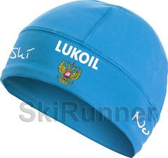 Лыжная шапка Nordski Active Blue Lukoil