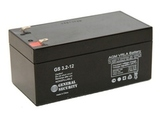 Аккумулятор General Security GS 3,2-12 ( GS12-3.2 ) ( 12V 3,2Ah / 12В 3,2Ач ) - фотография