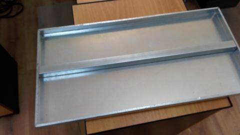 Металлический напольный стеллаж глубина 1000 мм