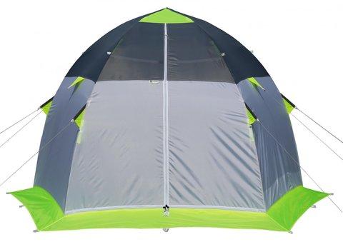 Палатка для зимней рыбалки Лотос 3 Эко (зеленый/оранжевый)