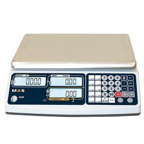 фото 1 Весы торговые электронные без стойки MAS MR1-15 на profcook.ru