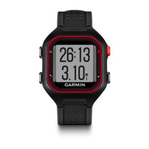 Купить Спортивные смарт часы Garmin Forerunner 25 Large Черно-красный (с датчиком) 010-01353-40 по доступной цене