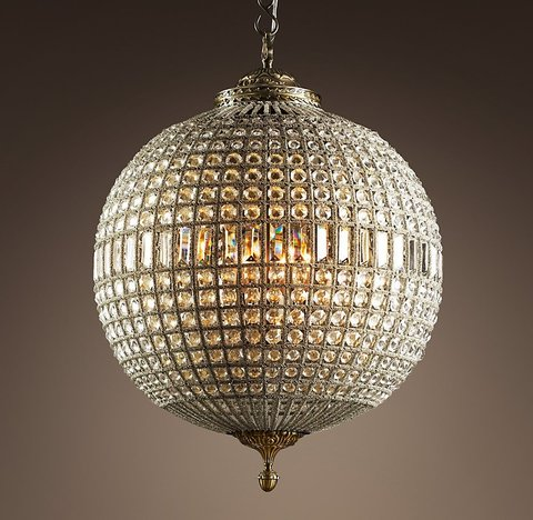 19th C. Casbah Crystal Chandelier 25