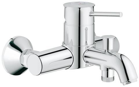 BauClassic Смеситель для ванны с автоматическим переключателем