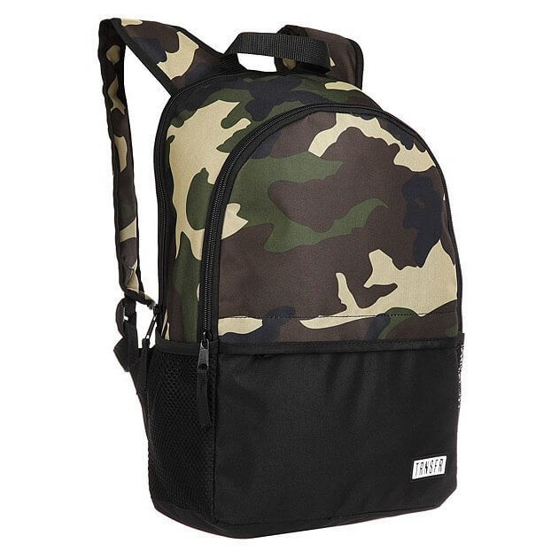 Рюкзак TRANSFER All Day Camo/Black