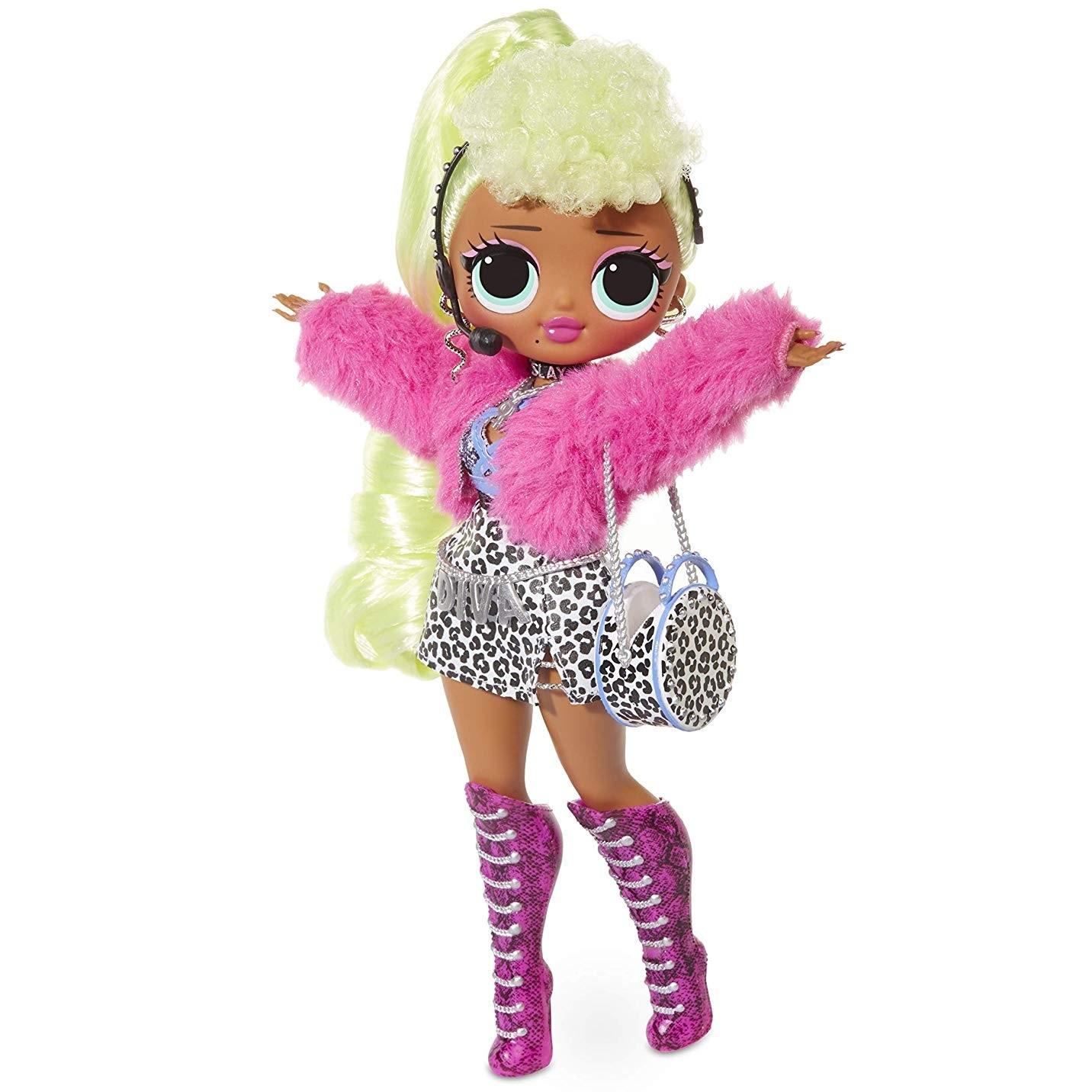Большая Кукла ЛОЛ ОМГ Дива (Lady Diva) - O.M.G. LOL ...