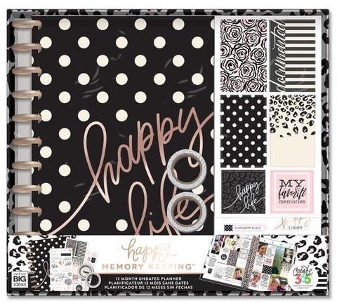 Набор для заполнения ежедневника  + планер Happy Memory Keeping™ BIG Box Kit - 23 х 28 см. - Happy Life