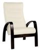 Кресло «Ладога-2», ткань слоновая кость, каркас венге, GREENTREE, г. Воронеж