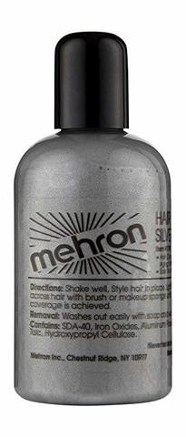 MEHRON Краска для волос, Серебристая, 133 мл