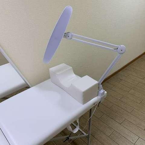 Лампа для наращивания ресниц светодиодная LED 182 с сенсорным управлением