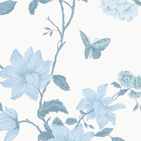 Обои Aura English Florals G34302, интернет магазин Волео