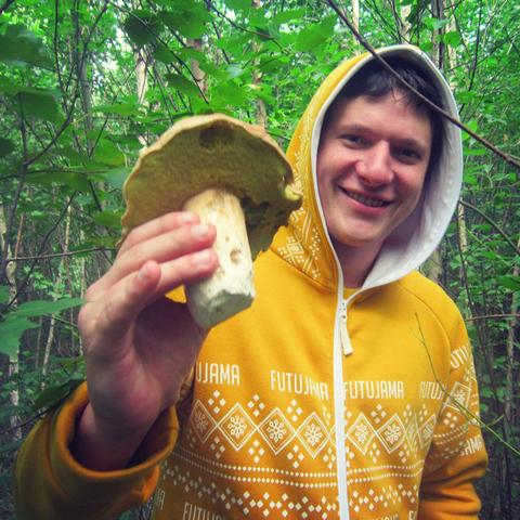 Николай: В Футужаме, за грибами=) И не страшен ни один клещ!