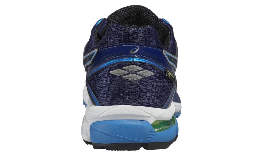 Мужские непромокаемые беговые кроссовки Asics GT-1000 4 G-TX (T5B2N 4990) синие