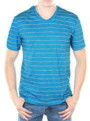 52530-1 футболка мужская, голубая