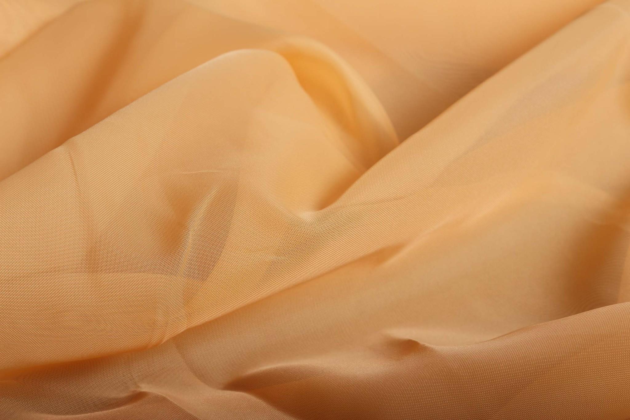 Длинные шторы. Тюль вуаль Nouvelle-2 (Peach)