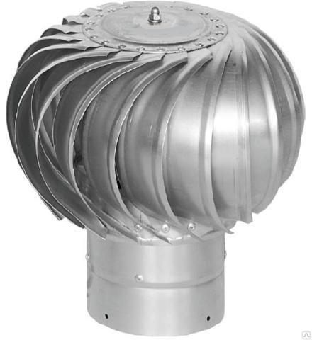 Турбодефлектор крышный d160мм оцинкованный