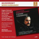 Mstislav Rostropovich / Mussorgsky: Boris Godunov (3CD)